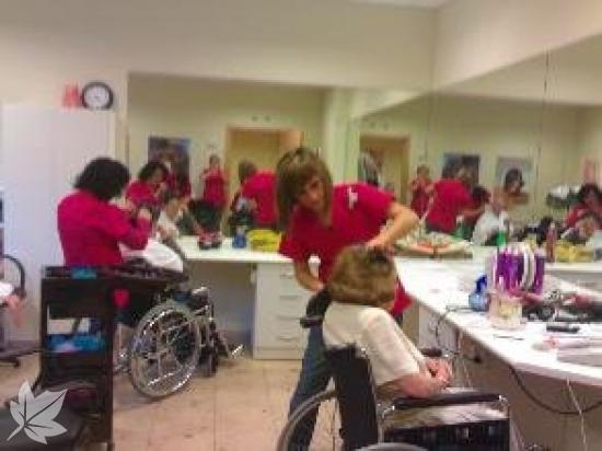 Servicio de Peluquería y Estética a Residencias
