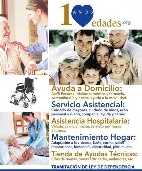 Servicio de Ayuda a Domicilio  en Palencia