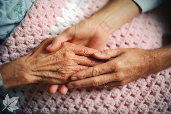 Atención domiciliaria para gente mayor