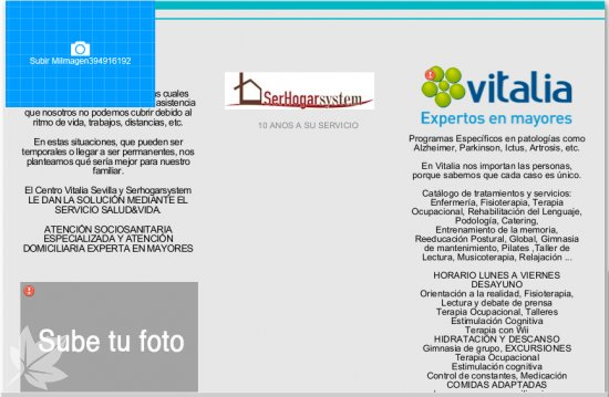 Vitalia Sevilla & Serhogarsystem