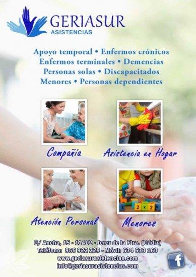 Ayuda a personas dependientes y tercera edad