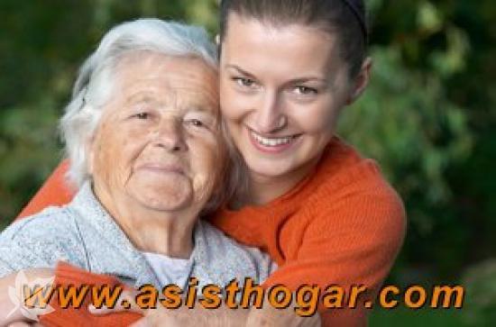 Servicio doméstico para el cuidado de mayores.