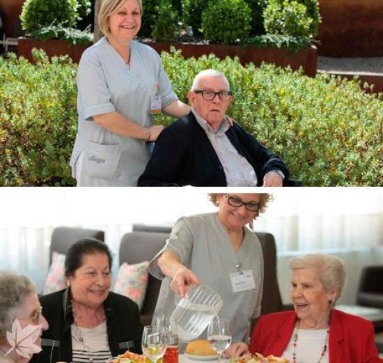 ALLEGRA Complex Residencial per persones Grans