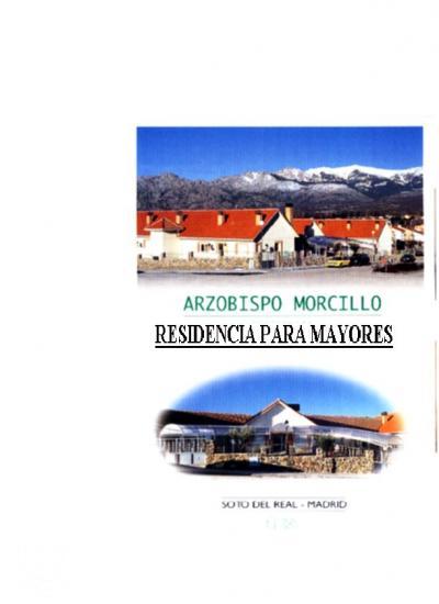 RESIDENCIA DE PERSONAS MAYORES ARZOBISPO MORCILLO