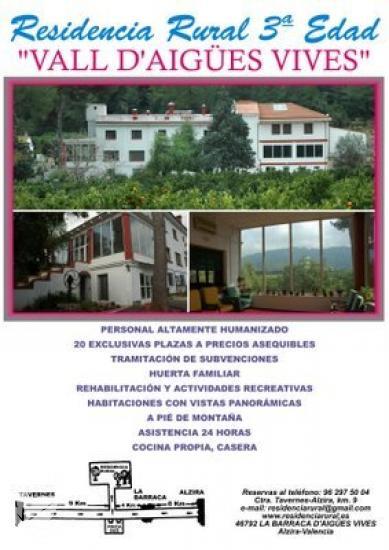 Residencia rural Vall d'Aigues Vives S.L