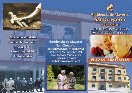 RESIDENCIA DE MAYORES SAN GREGORIO DE TORREPEROGIL