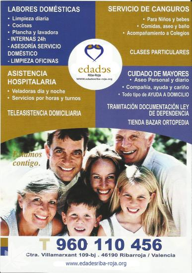 Ayuda a domicilio y servicios integrales
