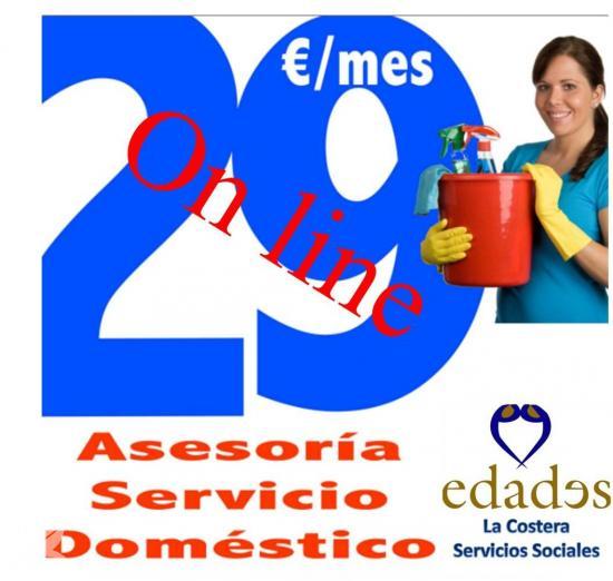 Asesoría del servicio doméstico por 29€