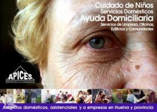 Ayuda a Domicilio Profesional en Huelva APICES SCA