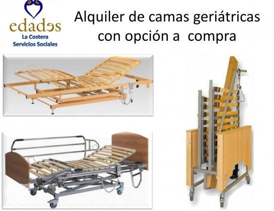 Alquiler de camas geriátricas desde 60€
