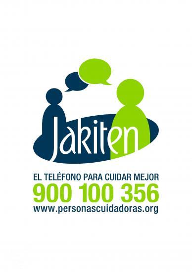 """Servicio gratuito para cuidadores """"Jakiten"""""""