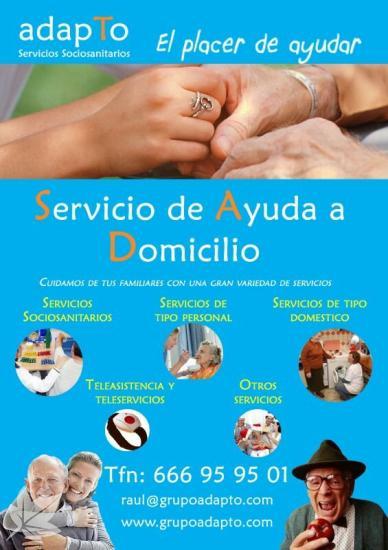 SERVICIO DE AYUDA A DOMICILIO INNOVADOR EN ELCHE
